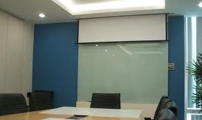 Bảng kính văn phòng KT 2 lớp :H1200xW2000mm BK - 2L1224