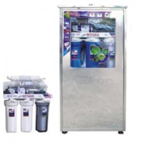 Máy lọc nước RO-50 GPD Vỏ inox nhiễm từ